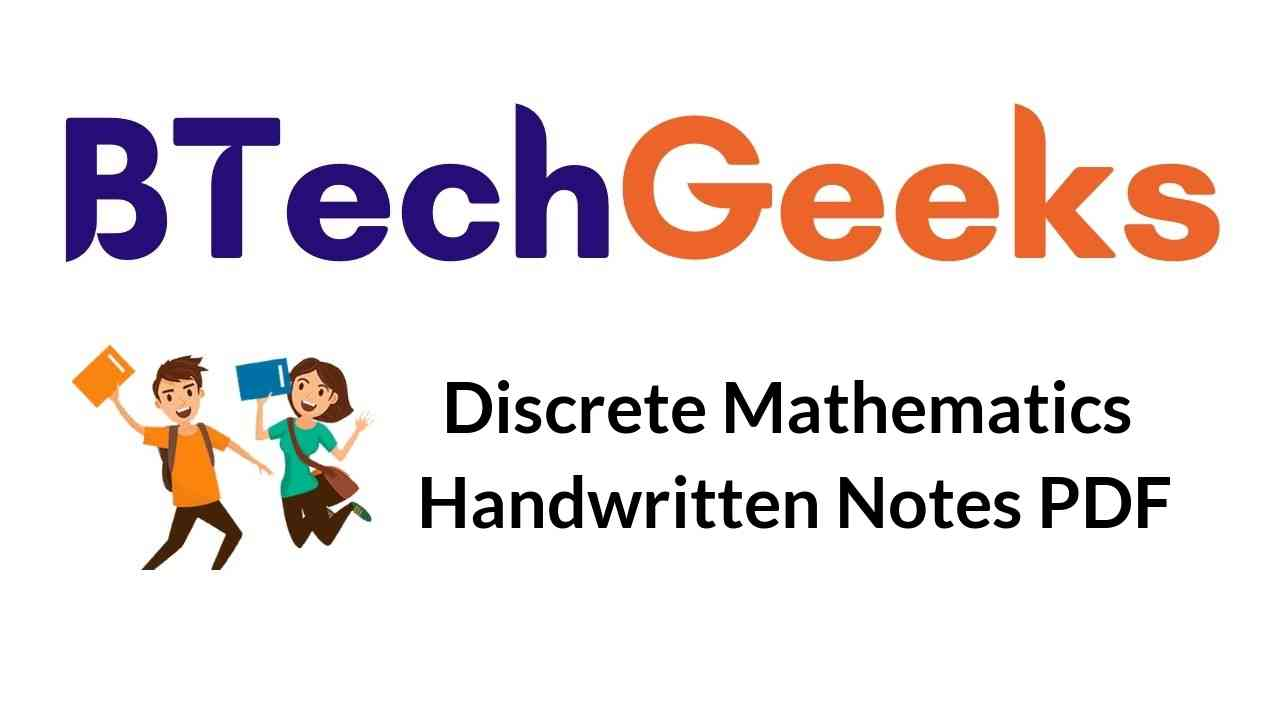 Discrete Mathematics handwritten Notes