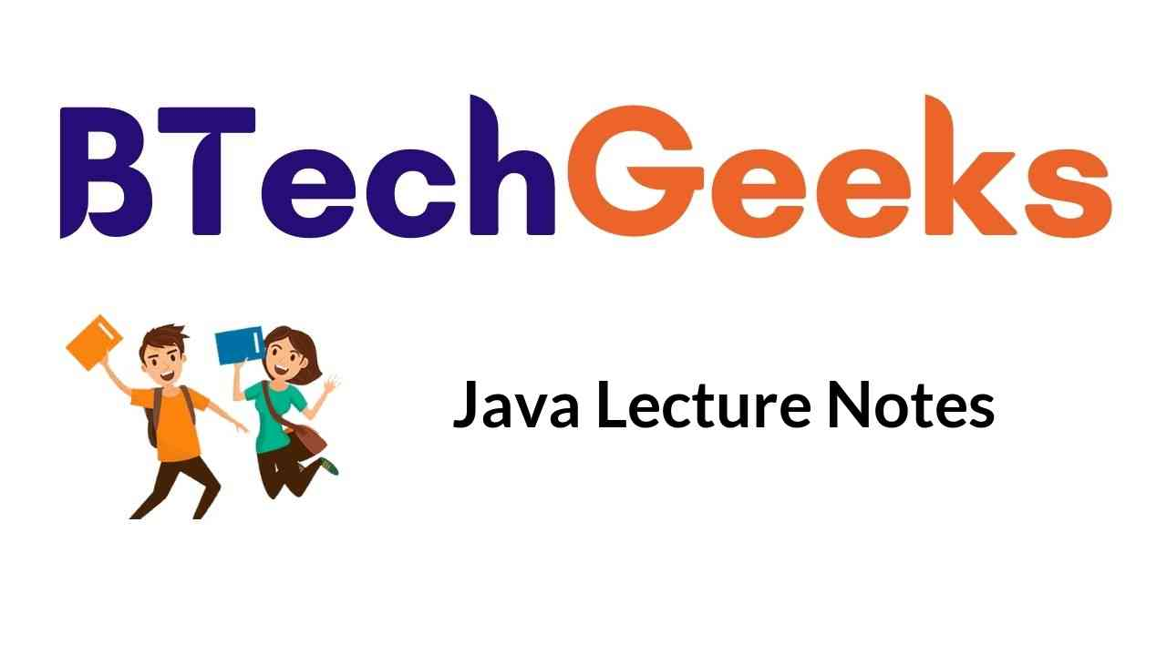 java lecture notes