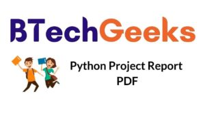 Python Project Report Notes