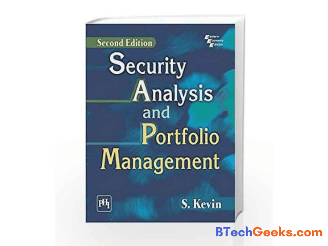 Security Analysis and Portfolio Management textbook