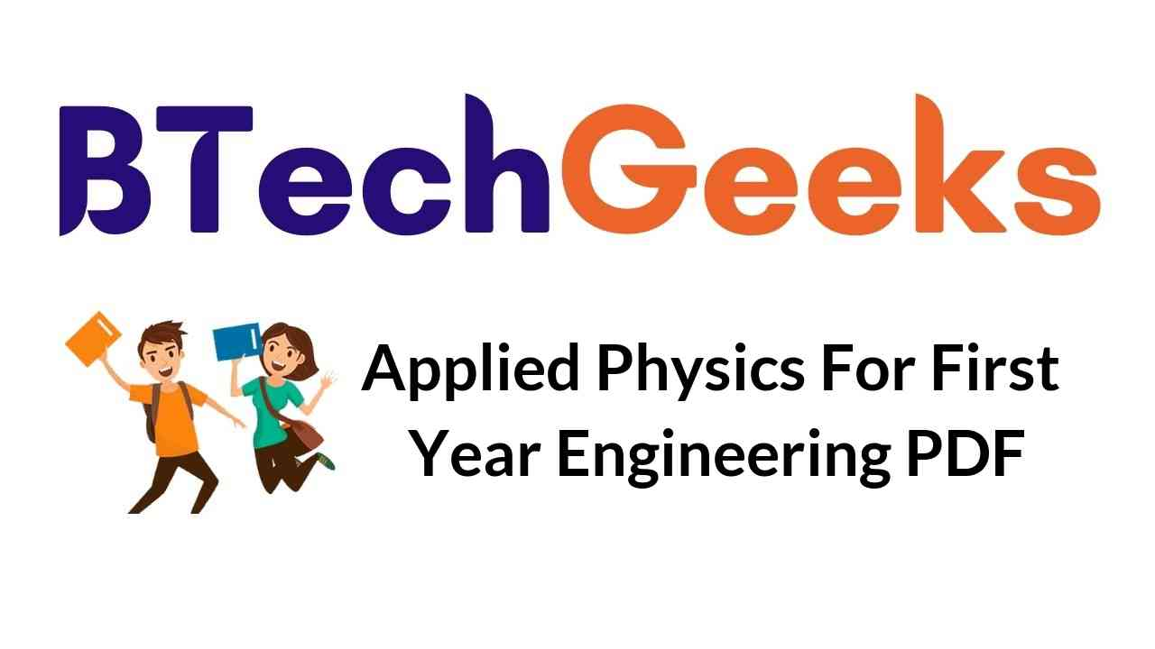 applied-physics-for-first-year-engineering-pdf