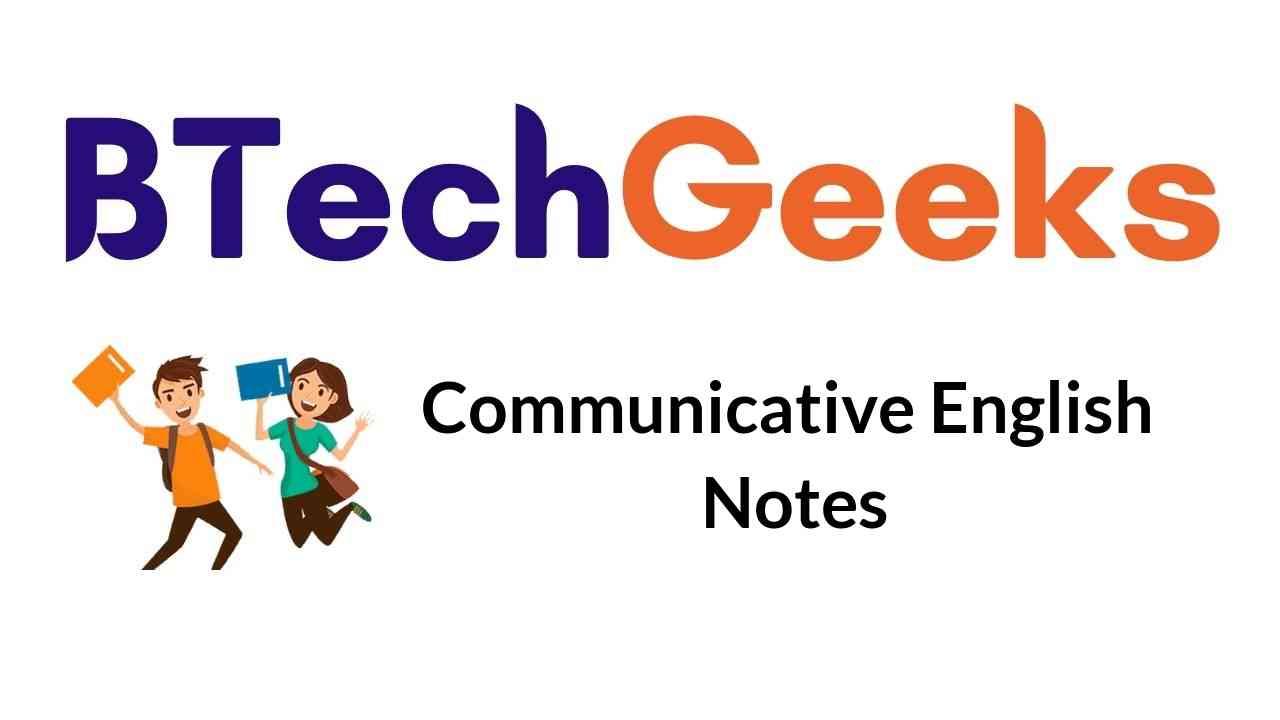 communicative-english-notes