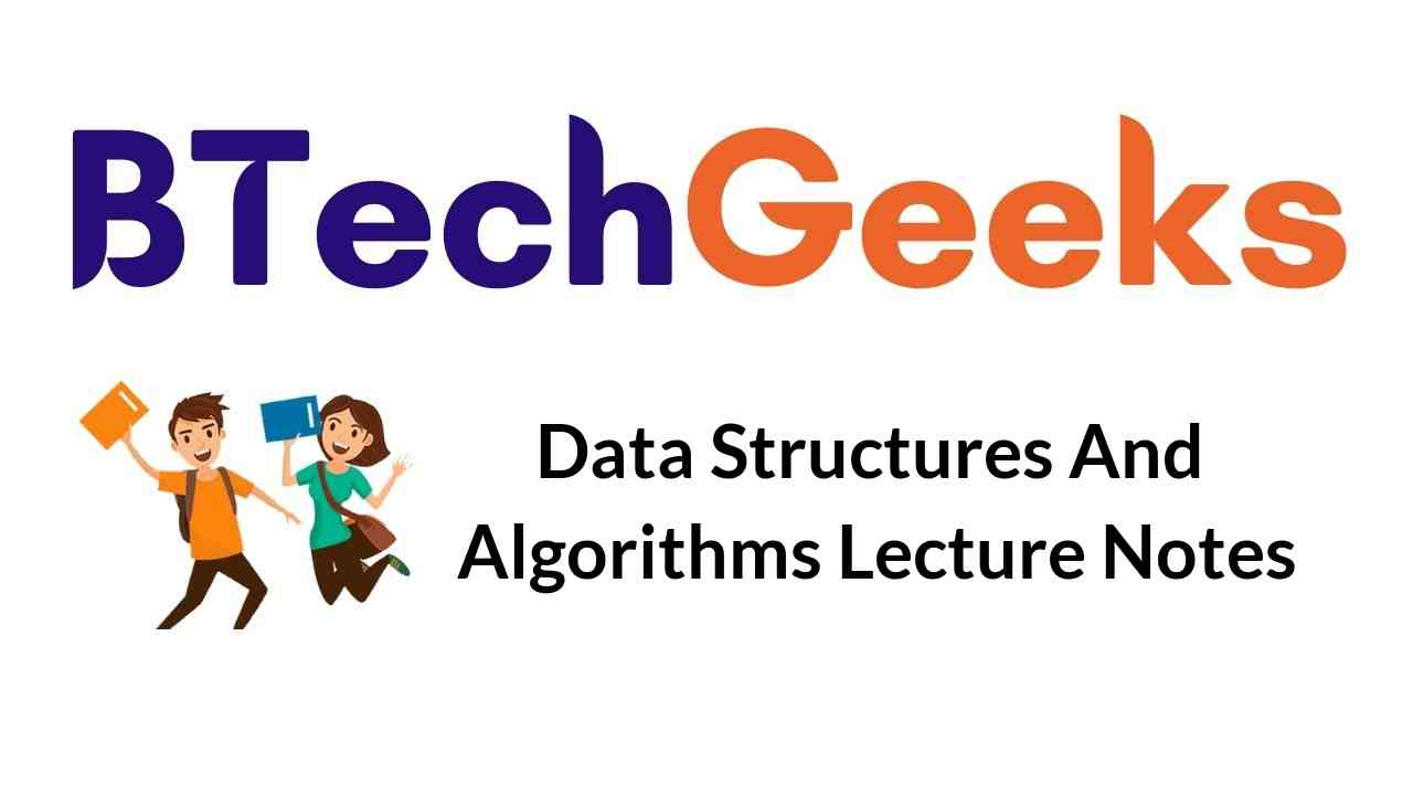 data-structures-and-algorithms-lecture-notes