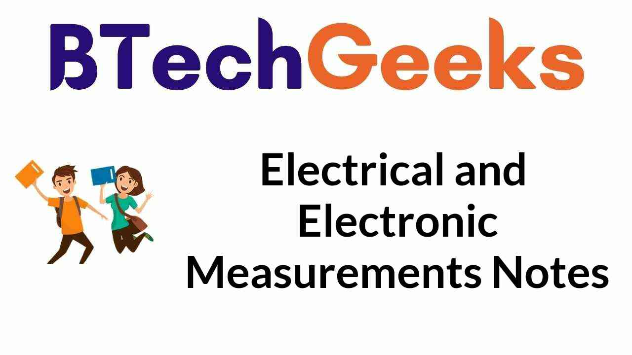 electrical-and-electronic-measurements-notes