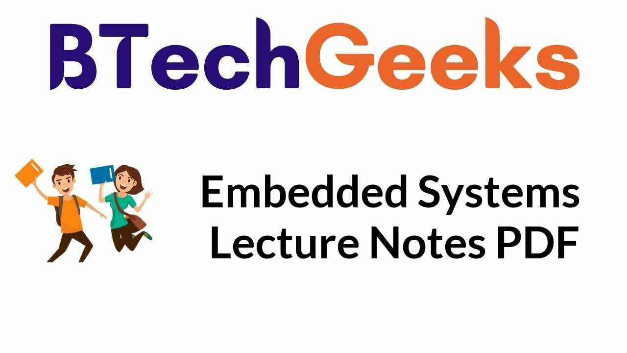 embedded-systems-lecture-notes-pdf