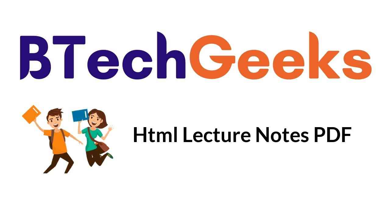 html-lecture-notes-pdf