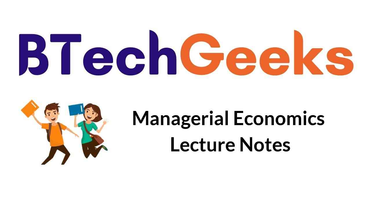 managerial-economics-lecture-notes