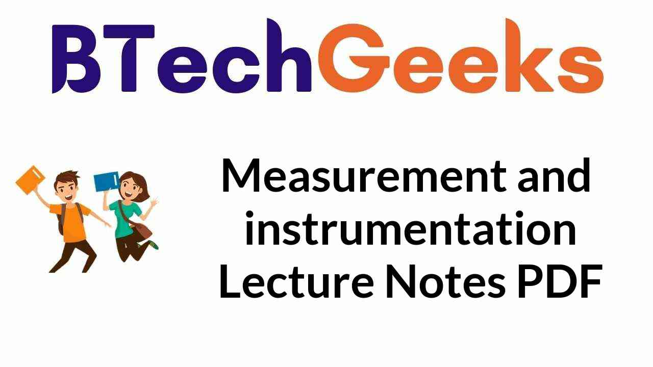 measurement-and-instrumentation-lecture-notes-pdf