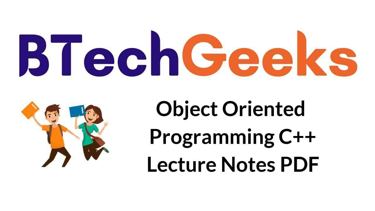 object-oriented-programming-c++-lecture-notes-pdf