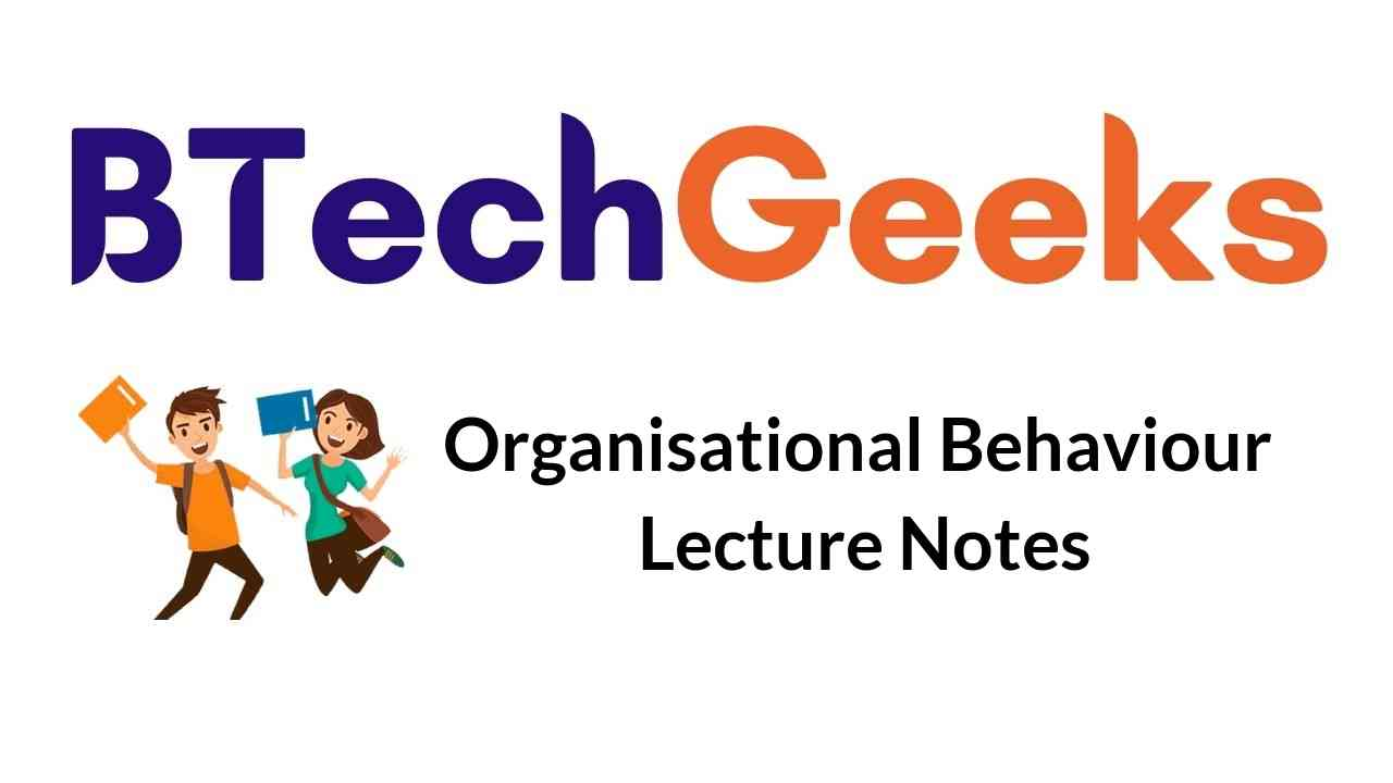organisational-behaviour-lecture-notes