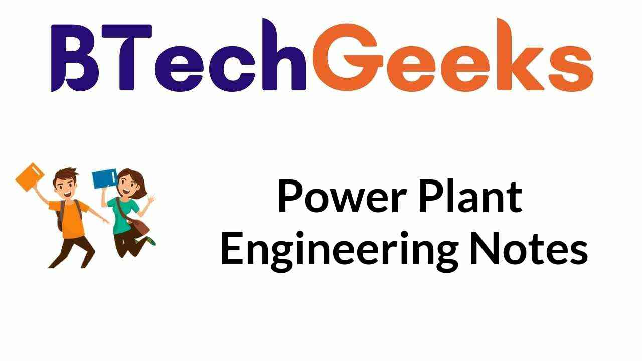 Power Plant Engineering Notes