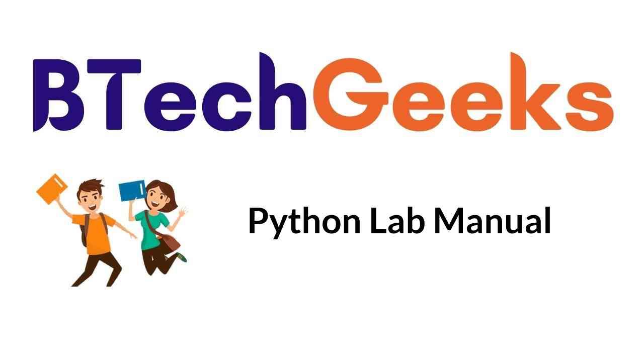 python-lab-manual-notes