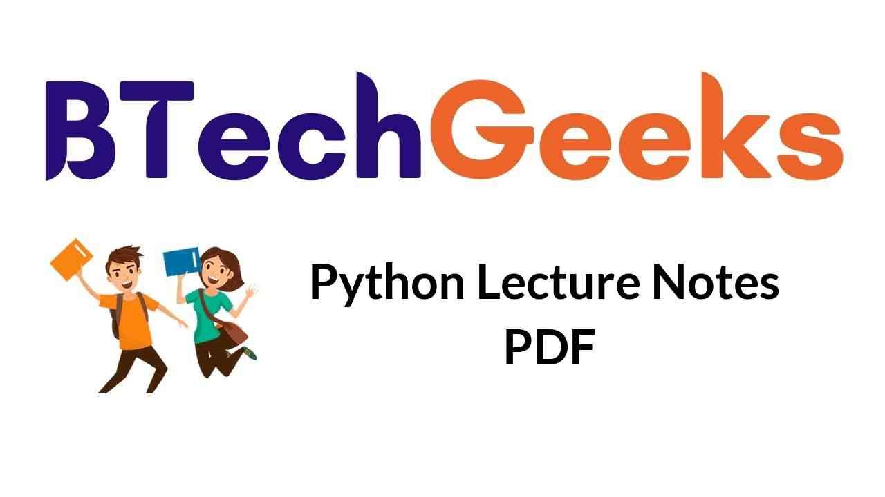 python-lecture-notes-pdf