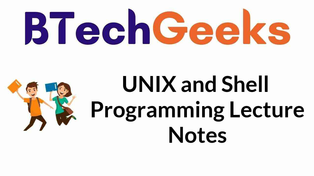 unix-and-shell-programming-lecture-notes