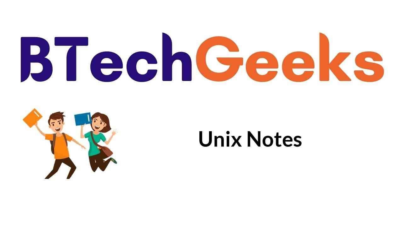 unix-notes