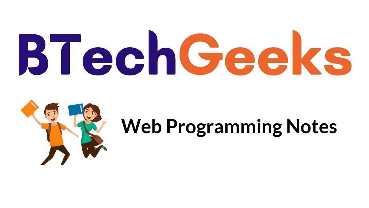 web-programming-notes