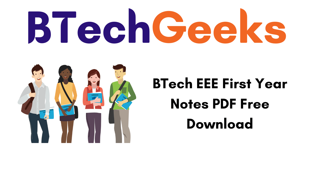 BTech EEE First Year Notes