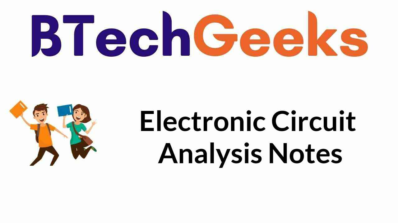 electronic-circuit-analysis-notes