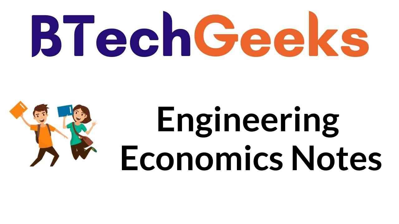 Engineering Economics Notes