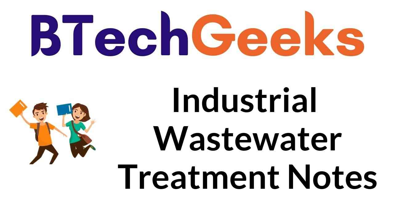Industrial Wastewater Treatment Notes