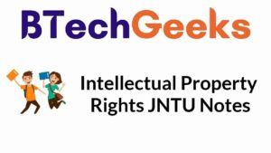 intellectual-property-rights-jntu-notes