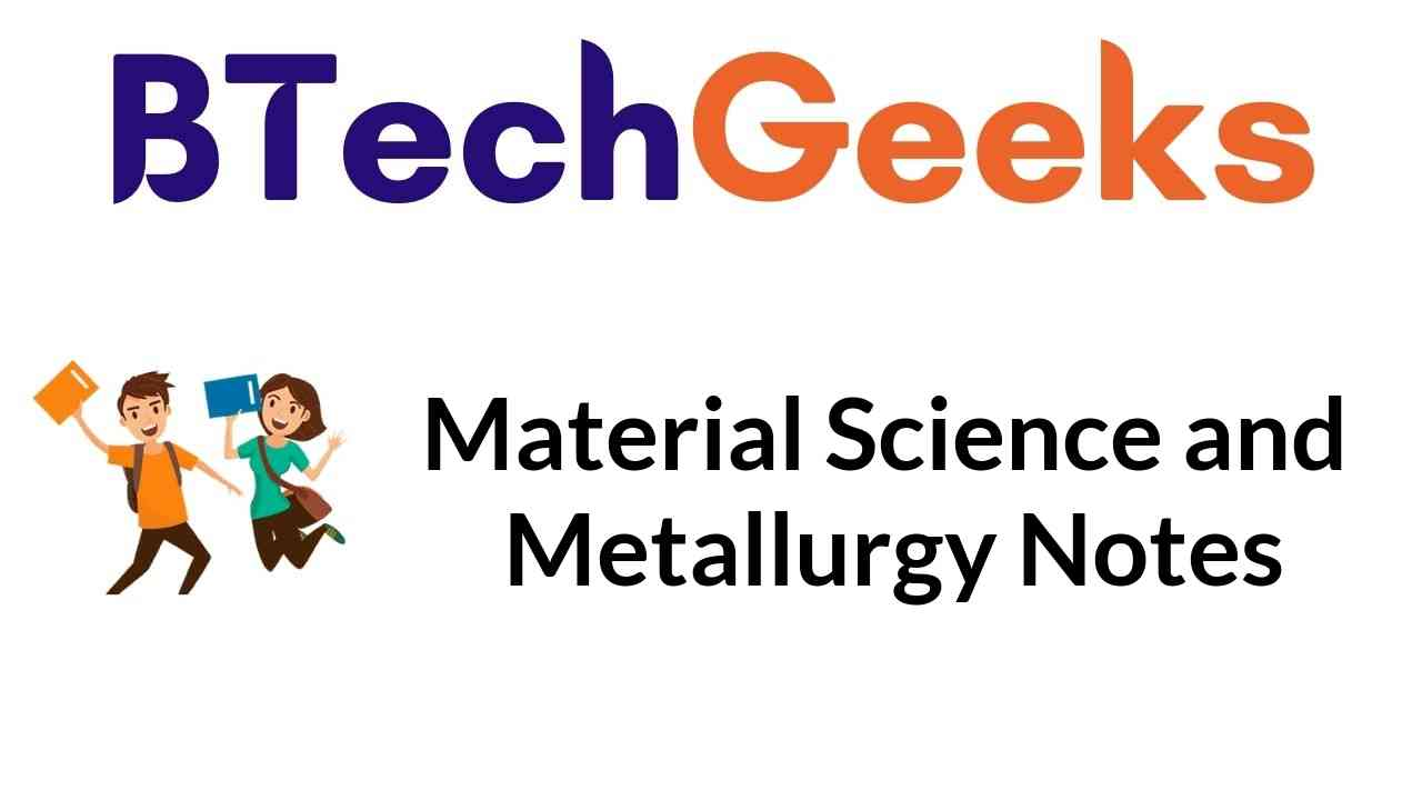 Material Science and Metallurgy Notes
