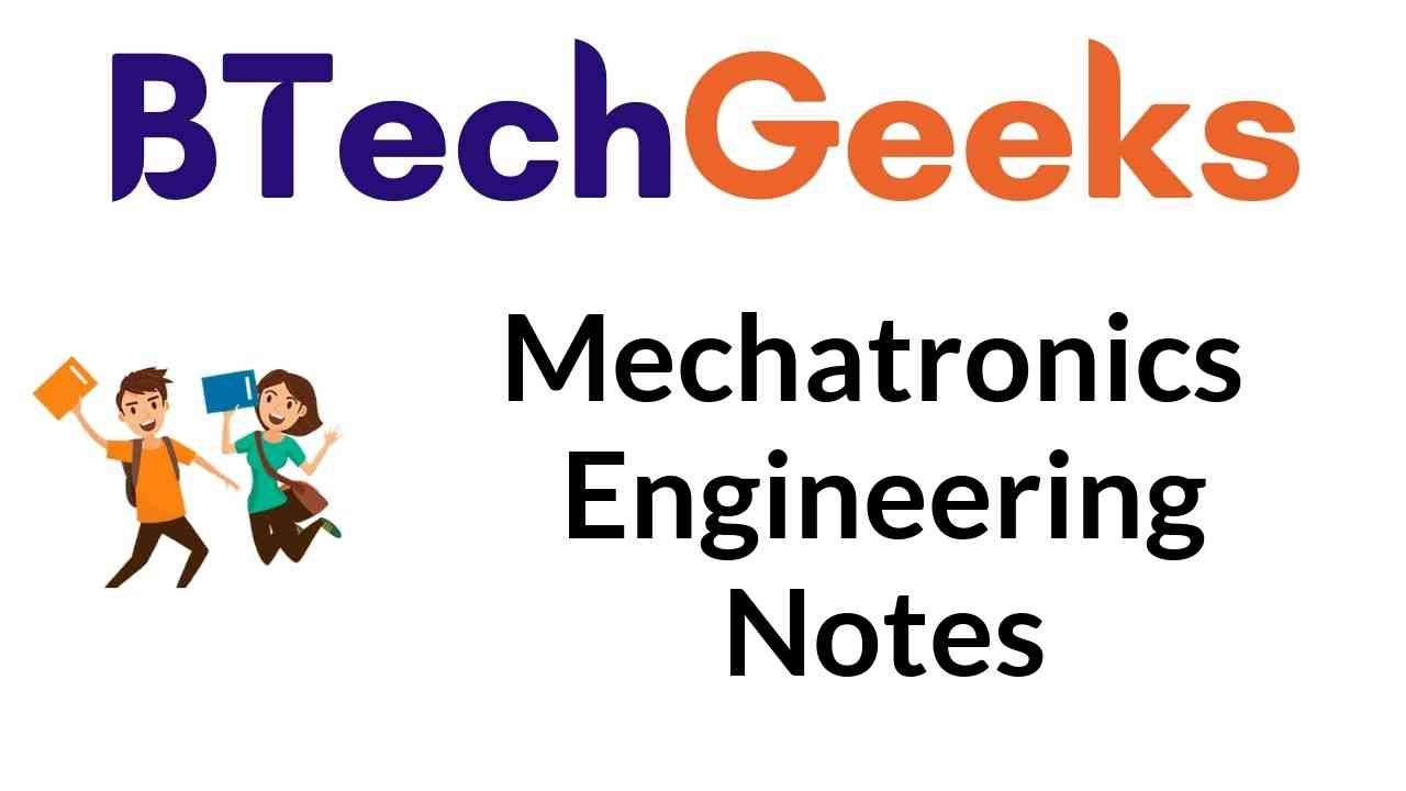 mechatronics engineering notes