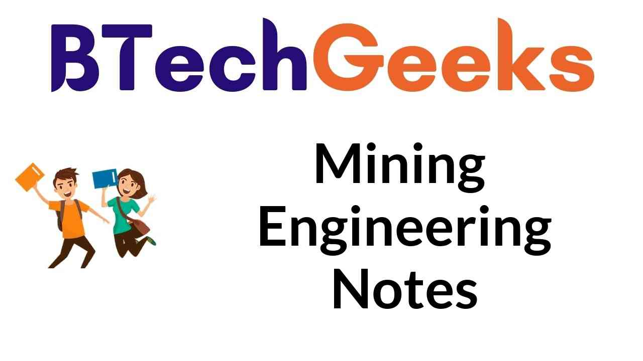 mining engineering notes
