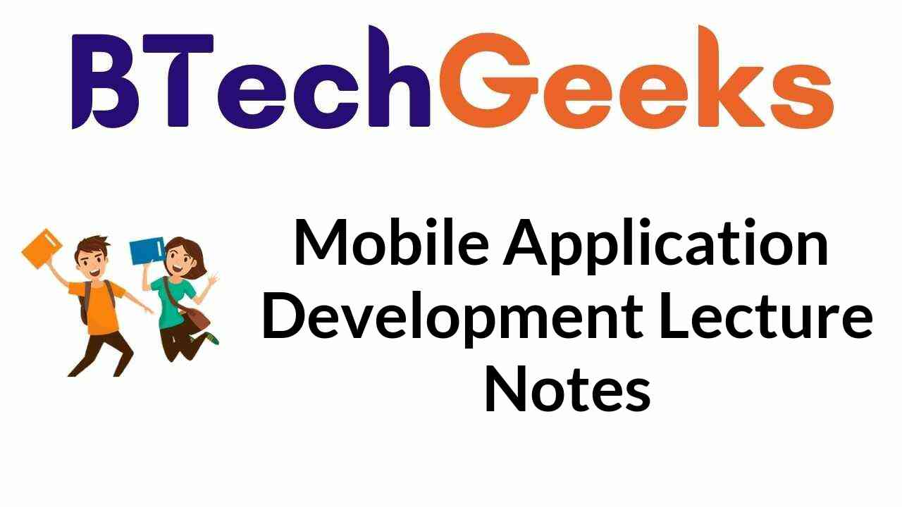 mobile-application-development-lecture-notes