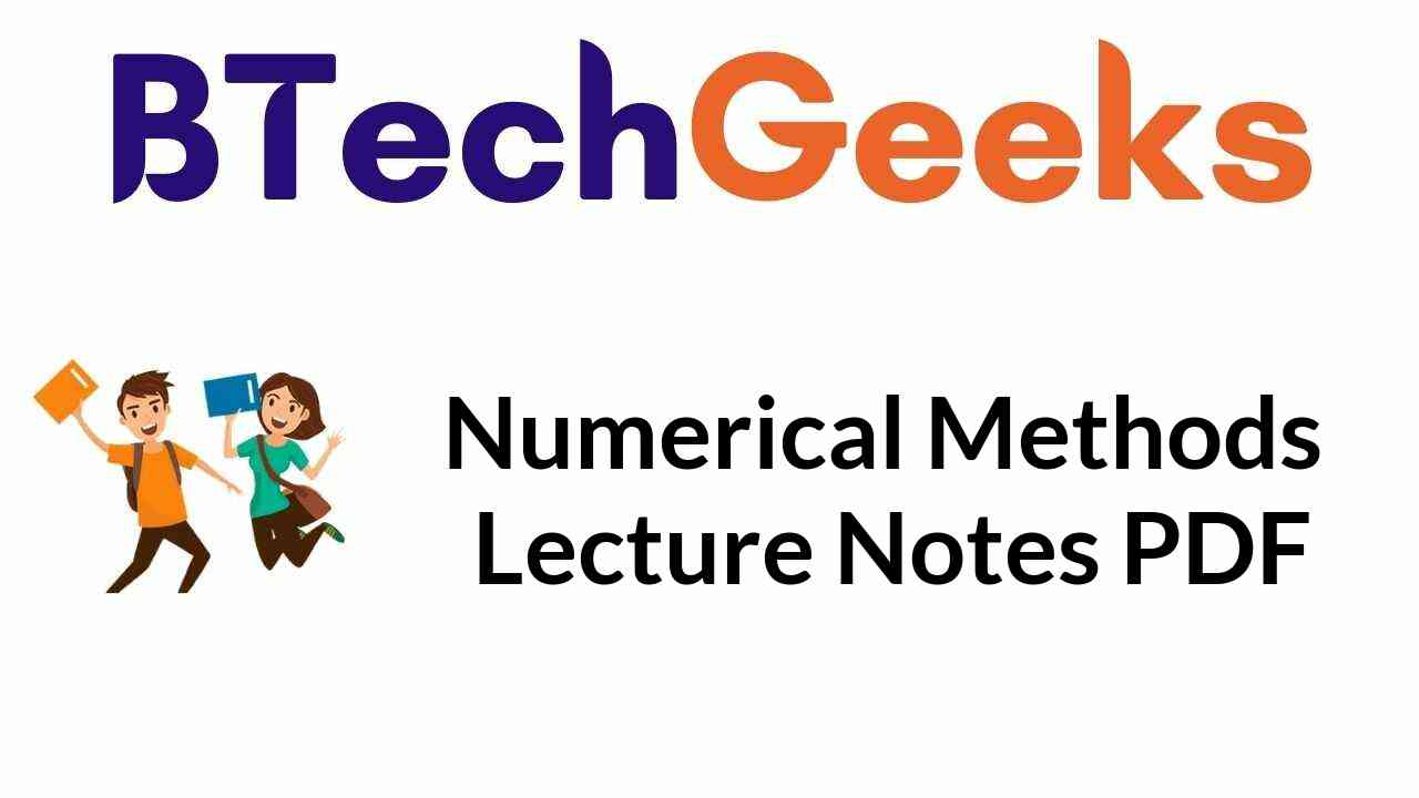 numerical-methods-lecture-notes-pdf
