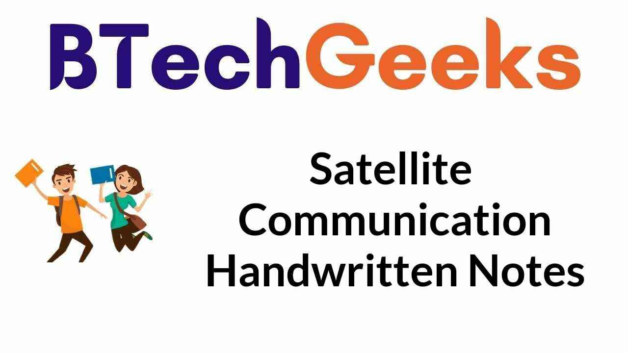 satellite-communication-handwritten-notes