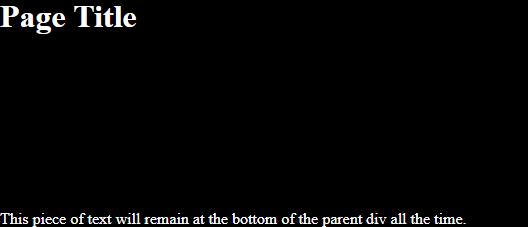 CSS div alignment output