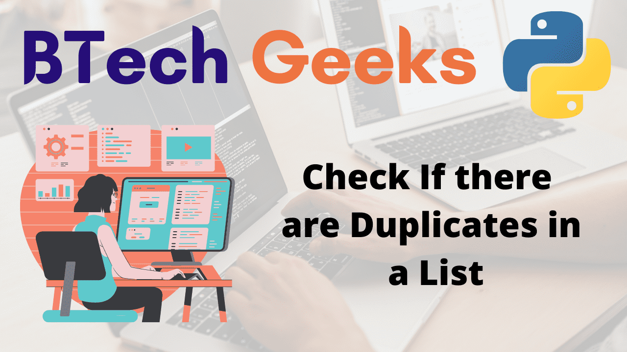 Check If there are Duplicates in a List
