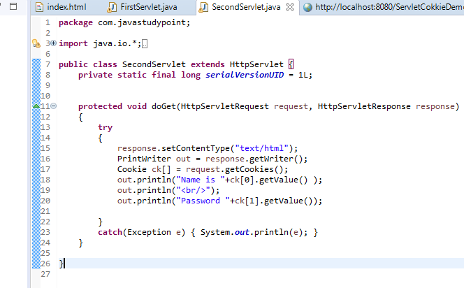 Cookies Class in Servlet Explained with Example 4