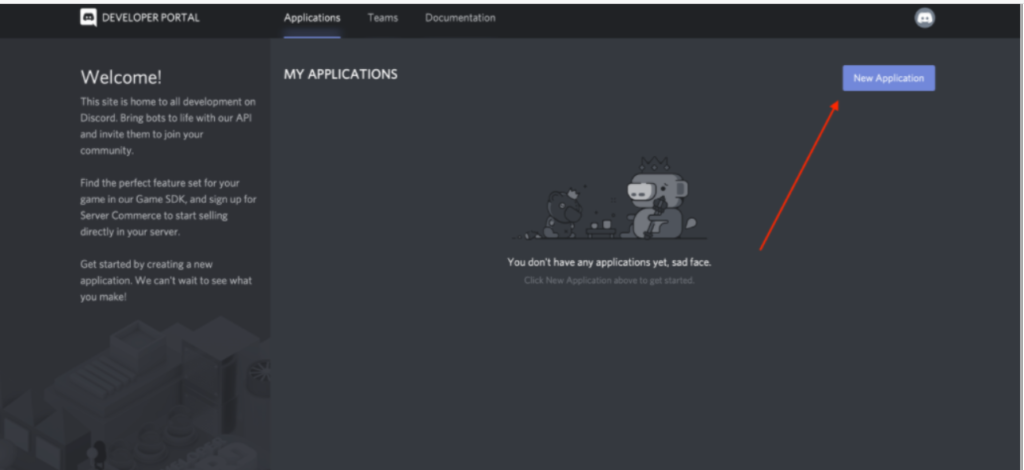 Creating-a-Discord-Account-application