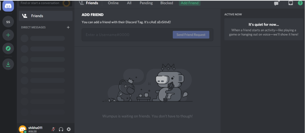 Creating-a-Discord-home-page