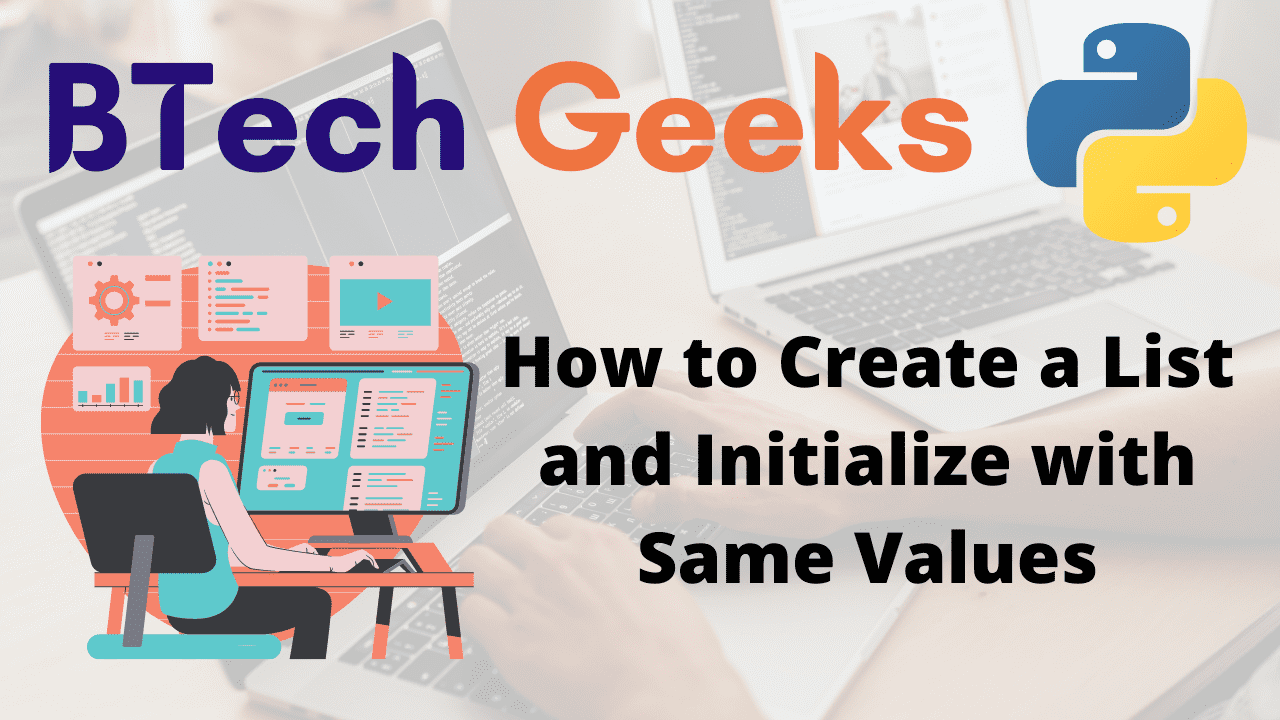 How to Create a List and Initialize with Same Values