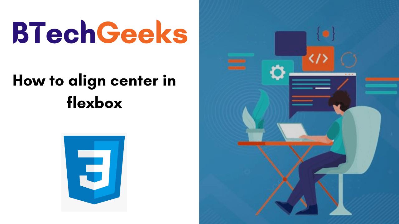 How to align center in flexbox