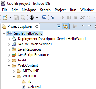 How to create Hello World Servlet example using eclipse IDE with Tomcat 7 5