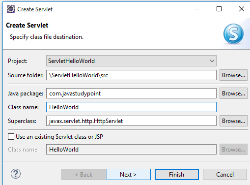 How to create Hello World Servlet example using eclipse IDE with Tomcat 7 7