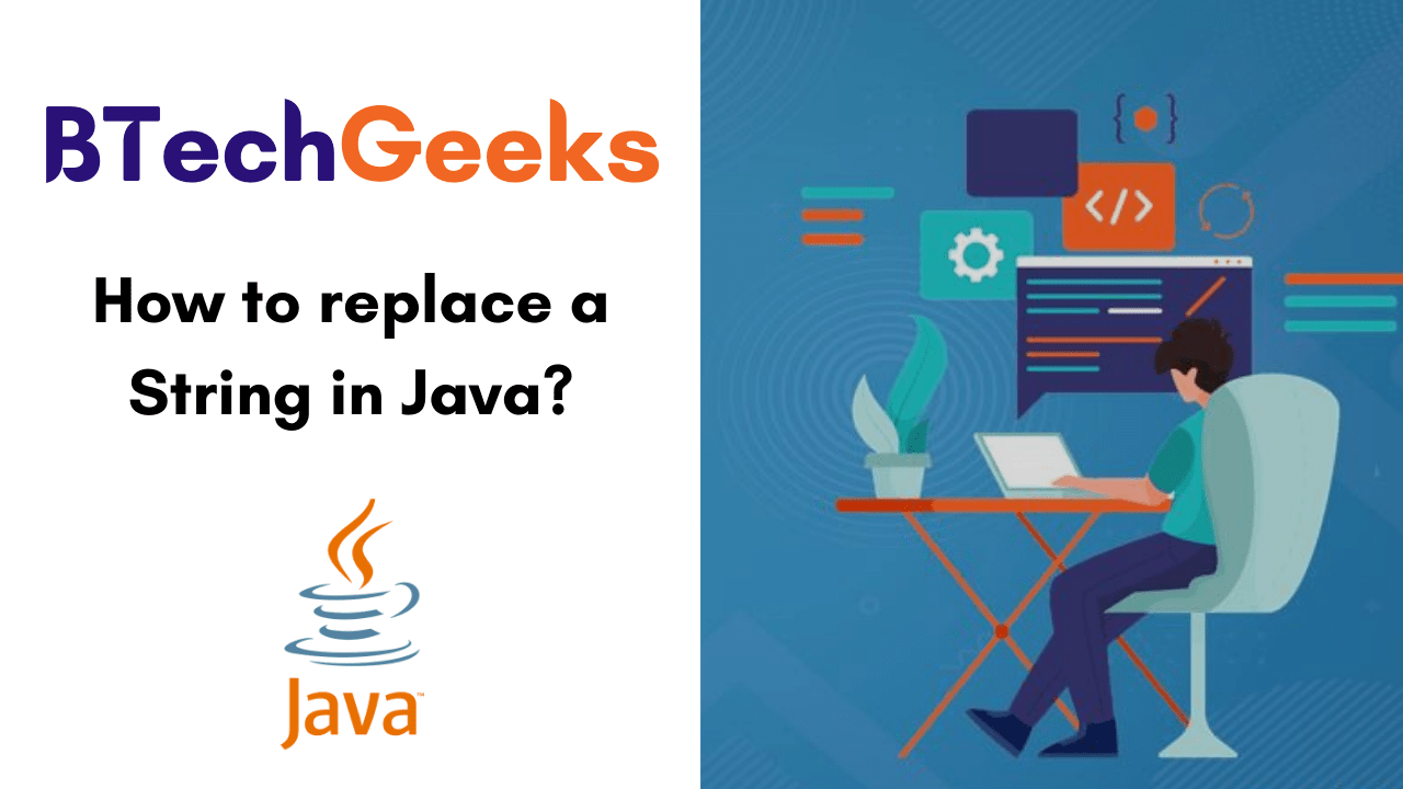 How to replace a String in Java