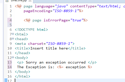 JSP Directives Page, Include and Taglib Directive 1