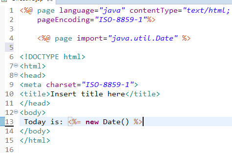 JSP Directives Page, Include and Taglib Directive 2