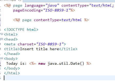 JSP Directives Page, Include and Taglib Directive 4