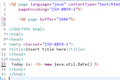 JSP Directives Page, Include and Taglib Directive 5