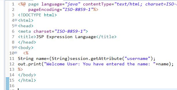 JSP Expression Language (EL) 11