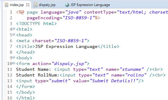 JSP Expression Language (EL) 2