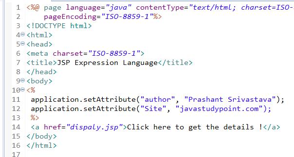 JSP Expression Language (EL) 6