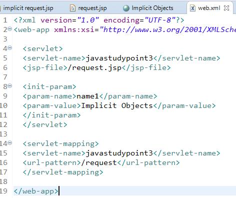 JSP Implicit Objects 9 Implicit Objects in JSP 11