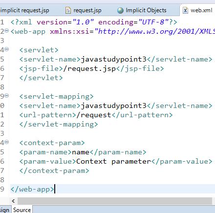 JSP Implicit Objects 9 Implicit Objects in JSP 14